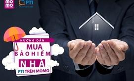 Hướng dẫn MUA bảo hiểm nhà PTI trên Momo