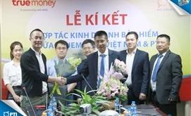 Truemoney Việt Nam hợp tác và phân phối bảo hiểm cho PTI