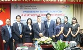 PTI ký kết hợp tác với BOM Insurance
