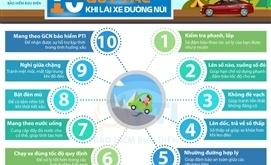 10 quy tắc khi lái xe đường đèo