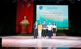 PTI triển khai dự án trao học bổng của Quỹ văn hóa Kimjunki