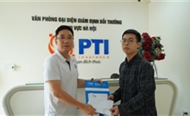 PTI chi trả bồi thường bảo hiểm xe máy cho khách hàng tại Hà Nội