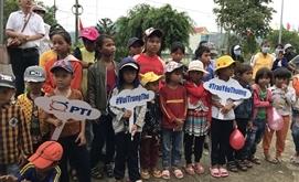 PTI Bình Định mang trung thu tới Phú Yên.