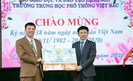 PTI và Bưu điện tỉnh Lạng Sơn trao tặng phòng máy tính cho trường THPT Việt Bắc, Lạng Sơn