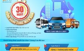 PTI ưu đãi cho khách hàng tham gia bảo hiểm vật chất xe ô tô
