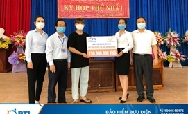 PTI chi trả bồi thường bảo hiểm xe máy cho khách hàng tại Lào Cai