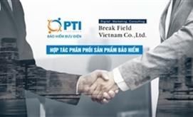 PTI ký kết hợp tác với Break Field Việt Nam