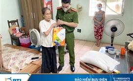 PTI trao quà cho các hộ dân gặp khó khăn do dịch bệnh